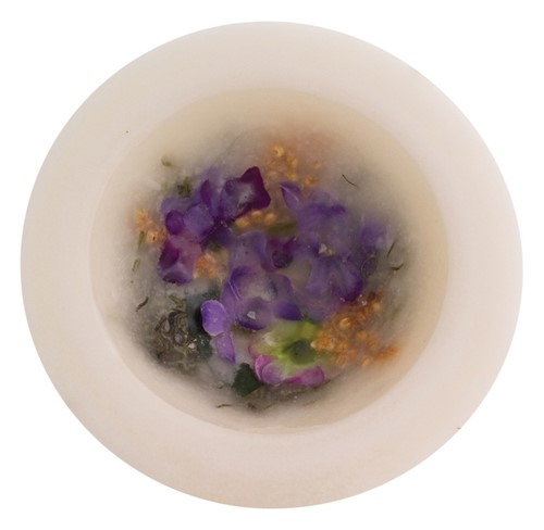 LILAC BLOSSOM PERSONAL SPACE WAX POTTERY® VESSEL