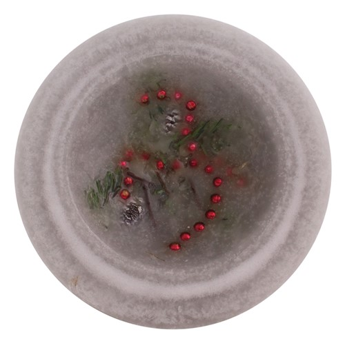 YULE LOG PERSONAL SPACE WAX POTTERY® VESSEL
