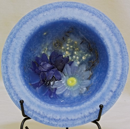 Indigo Child Personal Space Wax Pottery® Vessel